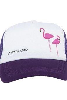 COLORSHAKE - Czapka tirówka fioletowa