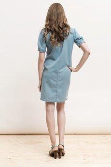 DŻINSLOVE - pikowana sukienka | Dżinslove