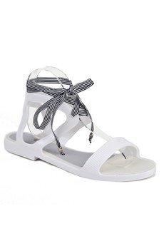 RUBBERIES - Summer White Jelly - sandały dla kobiet