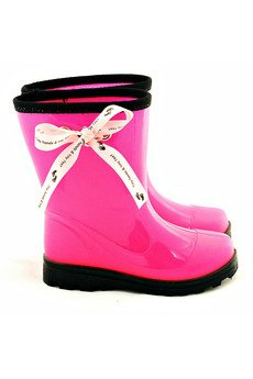- Neon Pink Feet - kaloszki dla dzieci