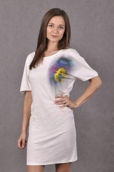 UNIQ ART - Sukienka Ptaki Anioł-smutki smutków