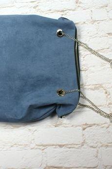 drops - niebieska torebka