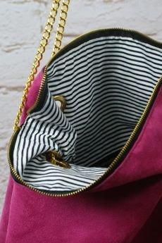drops - różowa torebka