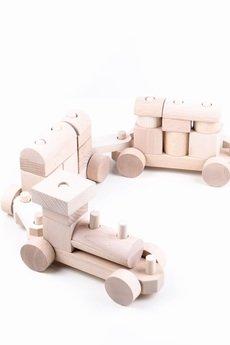 Tarnawa Toys - Pociąg- kolor naturalny