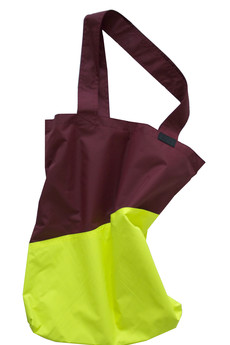 Bagasz - MODEL TWO COLOURS/ bordo-limonka