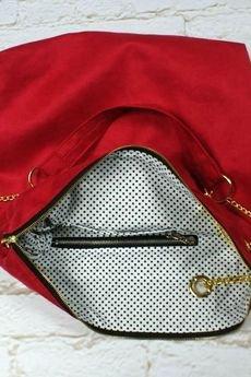 drops - malinowa torba