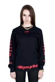 MAJORS - NYMPHO X BLACK LONGSLEEVE