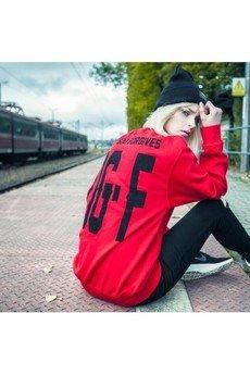 MAJORS - OGF Red Crewneck