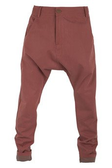 - spodnie z niskim krokiem marchewkowe