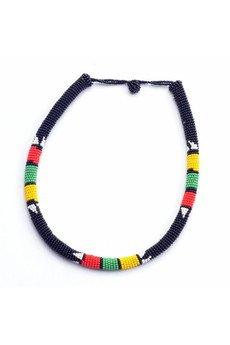 Meraki - MERAKI Black Zulu South African Necklace