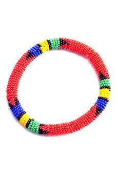 Meraki - MERAKI Red Zulu South African Bracelet