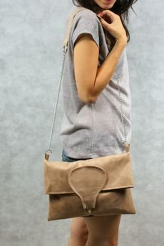 drops - torebka beżowa