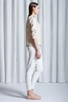 Kremowa bluza b