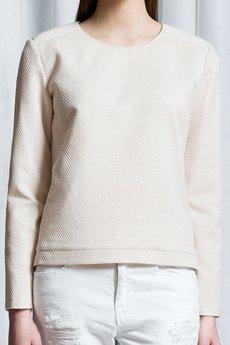 Kremowa bluzazoom