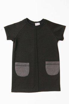 SUZI - Sukienka z naszytymi kieszeniami