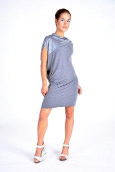 Asymetryczna sukienka dzianinowa - 12846