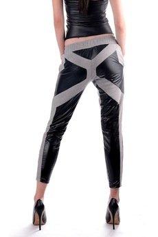 Agnieszka Martini - Contrast line spodnie dresowe