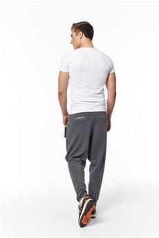 - spodnie madoxy dresowe ciemnoszare szare