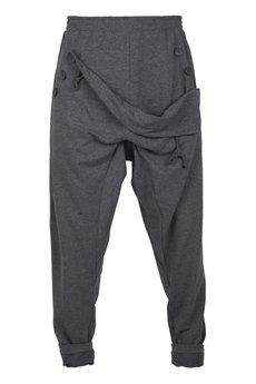 MADOX design - spodnie madoxy dresowe szare ciemne