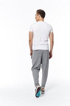 MADOX design - spodnie madoxy dresowe jasnoszare szare