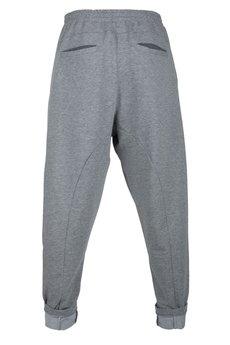 - spodnie madoxy dresowe jasnoszare szare