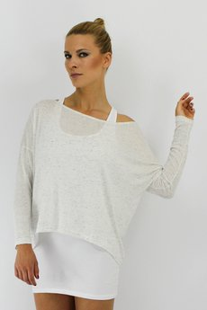 YES TO DRESS by Bożena Karska - GHOST blouse / NOT SO BASIC line