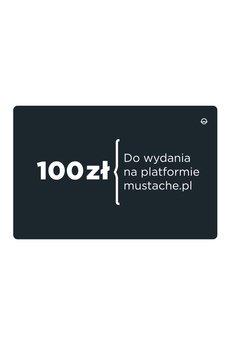 Mustache - karta upominkowa 100 zł
