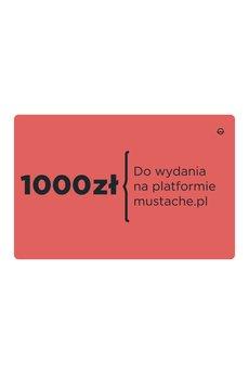 - karta upominkowa 1000 zł