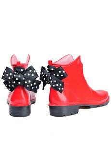 - Red Bow - kalosze dla kobiet