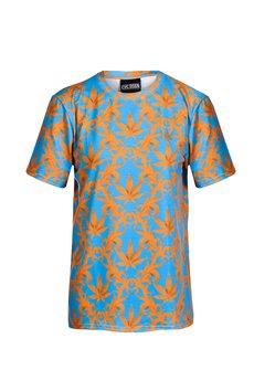 EVC DSGN - EVC DSGN / koszulka Diler THIRT / błękit