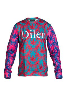 - EVC DSGN / bluza Diler STWR_róż