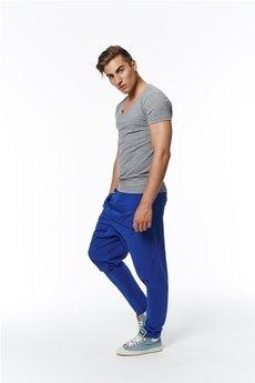 MADOX design - spodnie madoxy dresowe niebieske
