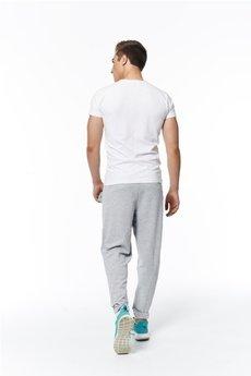 MADOX design - spodnie madoxy dresowe szaro - zielone