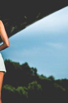 - Sukienka plażowa miętowa Nokaut Baltic Bay