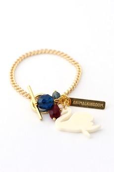 - Bransoletka Animal Kingdom z łabędziem kość słoniowa