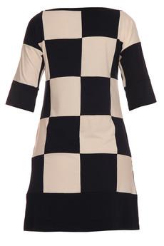 - Sukienka szachownica