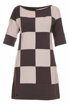 - Sukienka szachownica YY200027