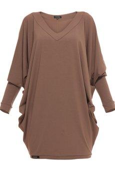 - Sukienka nietoperz mini YY100052