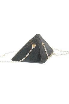 Filimoniuk Design - piramida SADZA / srebrny łańcuszek