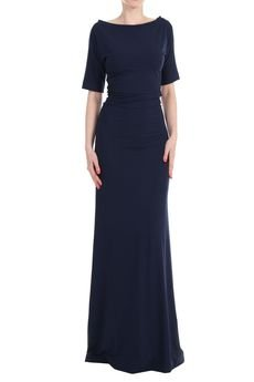 YULIYA BABICH - Sukienka prosta z rękawami długa
