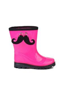 - Pink Mustache - kaloszki dla dzieci