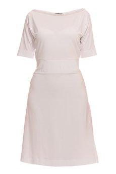 YULIYA BABICH - Sukienka prosta z rękawami.