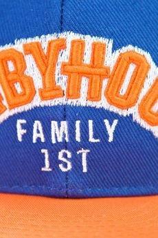 BABYHOOD - Czapka Snapback Orange Kicks