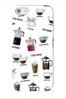 Yeah Bunny - CASE IPHONE - I LOVE COFFEE