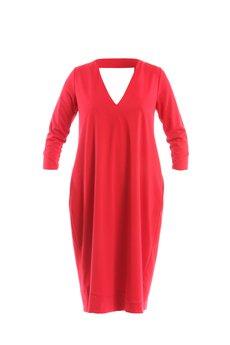 LOUS - LOUS/CHALLENGE/sukienka PROUD red sukienka