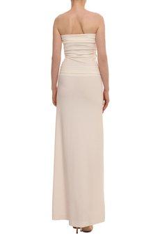 YULIYA BABICH - Sukienka gorsetowa z paskiem