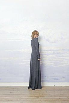 RISK made in warsaw - suknia MARIA ANTONINA grafit