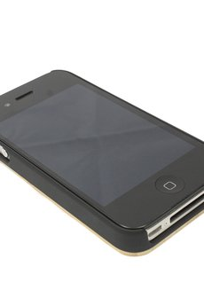 - Drewniana obudowa iPhone 4/4S Modern Bambus