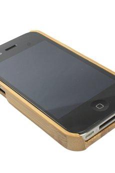 - Drewniana obudowa iPhone 4/4S Simple Bambus