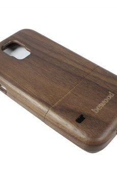 bewood - Drewniana obudowa Samsung S5 Vintage Orzech